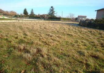 Vente Terrain 1 687m² Roiffieux (07100) - photo