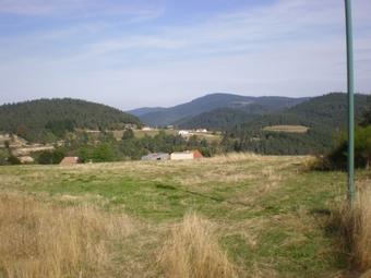 Vente Terrain 1 080m² Saint-Bonnet-le-Froid (43290) - photo