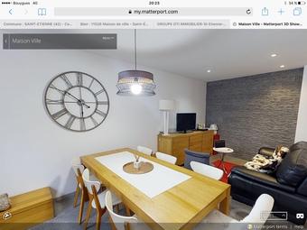 Vente Maison 4 pièces 80m² Saint-Étienne (42000) - photo