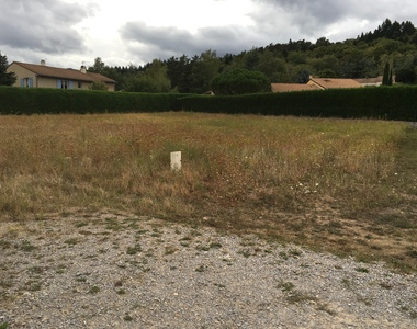 Vente Terrain 1 007m² ANNONAY - photo