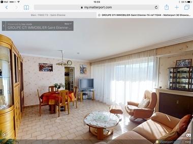 Vente Appartement 4 pièces 85m² Saint-Étienne (42100) - photo