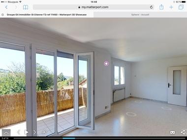 Vente Appartement 3 pièces 76m² Saint-Étienne (42100) - photo