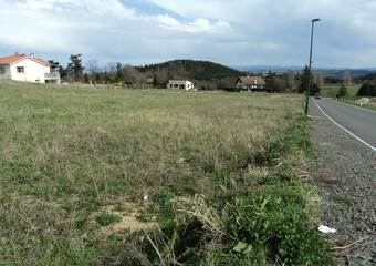 Vente Terrain 947m² La Tourette (42380) - photo