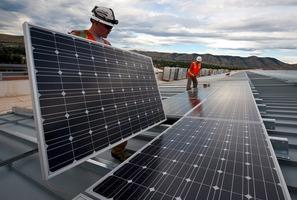 Une route solaire à Privas en Ardèche