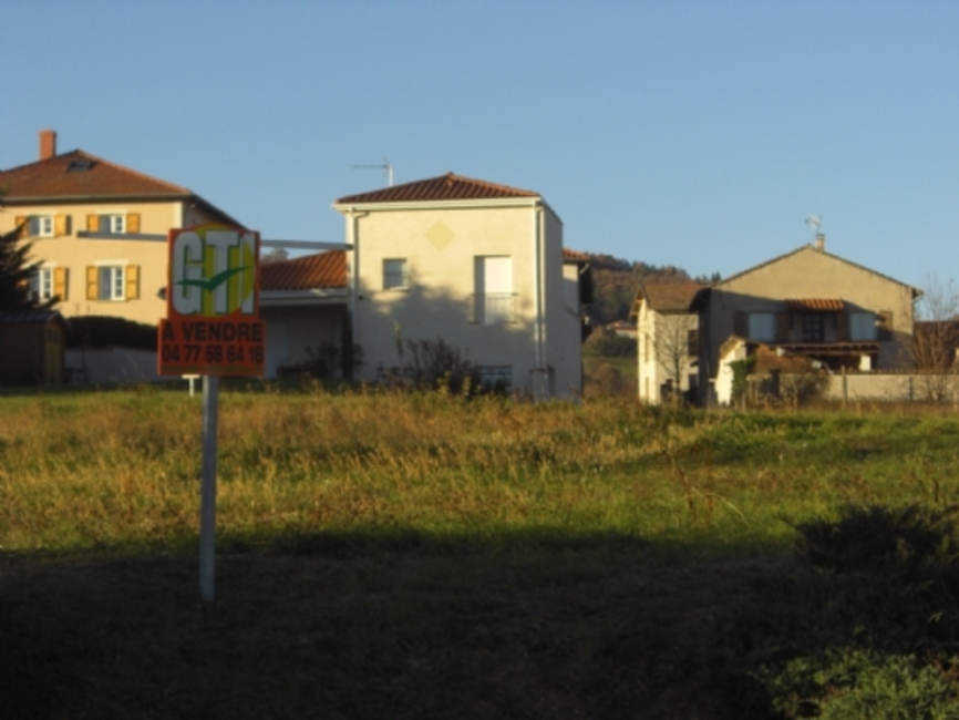 Vente Terrain 1 780m² A L'OREE DU BOURG - photo