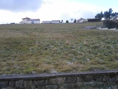 Vente Terrain 1 418m² Montfaucon-en-Velay (43290) - photo