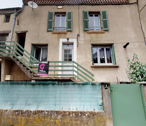 Vente Maison 3 pièces 63m² Nonette (63340) - photo
