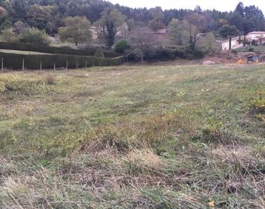 Vente Terrain 1 752m² Annonay (07100) - photo