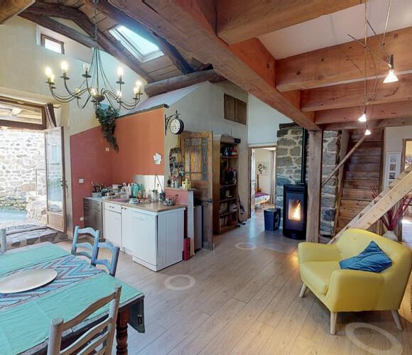 Vente Maison 4 pièces 80m² Lantriac (43260) - photo