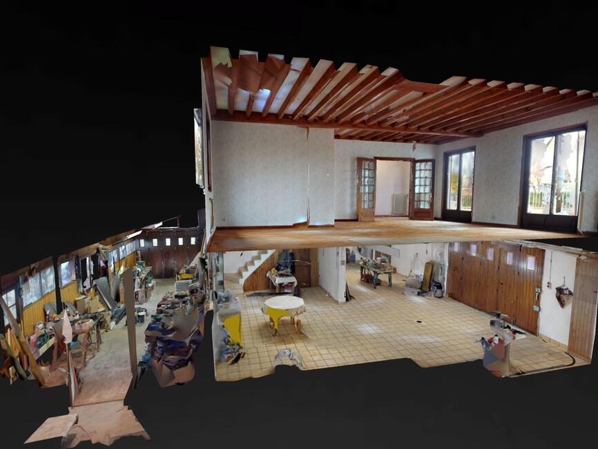 vente maison montrond les bains 42210 420574. Black Bedroom Furniture Sets. Home Design Ideas