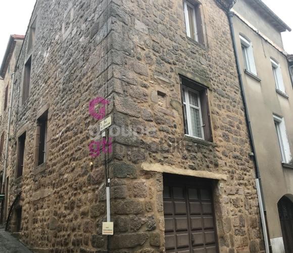 Vente Maison 4 pièces 80m² Saint-Bonnet-le-Château (42380) - photo