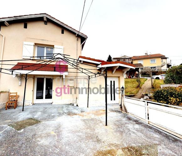 Vente Maison 5 pièces 80m² Unieux (42240) - photo