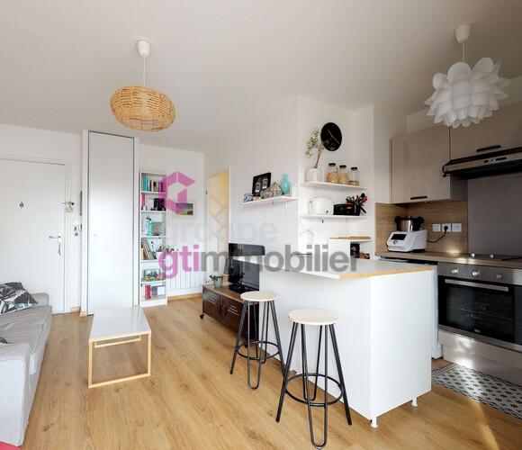 Vente Appartement 2 pièces 40m² Aulnat (63510) - photo