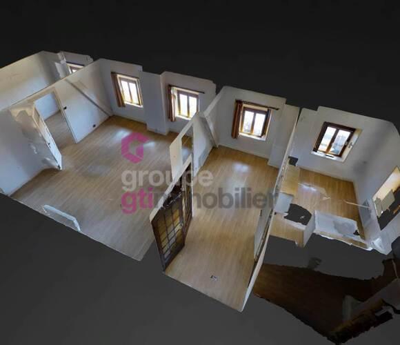 Vente Appartement 3 pièces 66m² Saint-Didier-en-Velay (43140) - photo