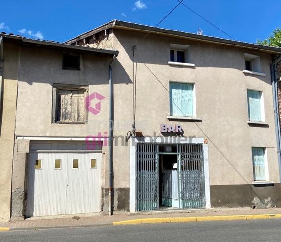 Vente Immeuble 6 pièces 234m² Courpière (63120) - photo