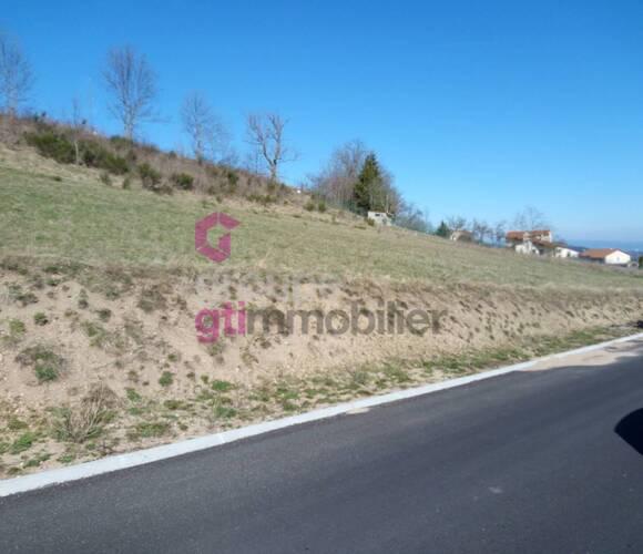 Vente Terrain 925m² Yssingeaux (43200) - photo