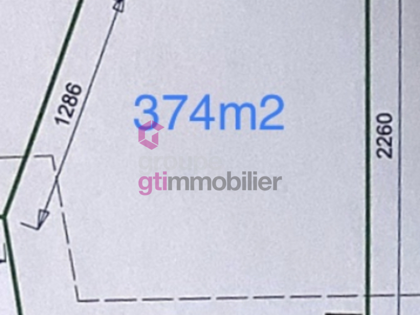 Vente Terrain 374m² Sury-le-Comtal (42450) - photo