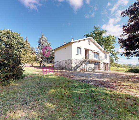 Vente Maison 6 pièces 90m² Beaulieu (43800) - photo