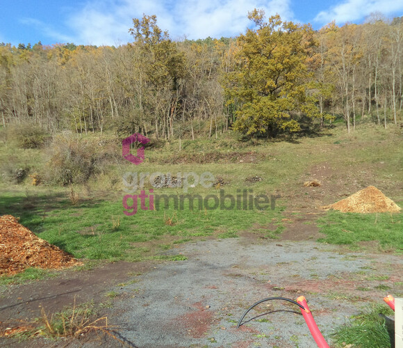 Vente Terrain 1 314m² Polignac (43000) - photo