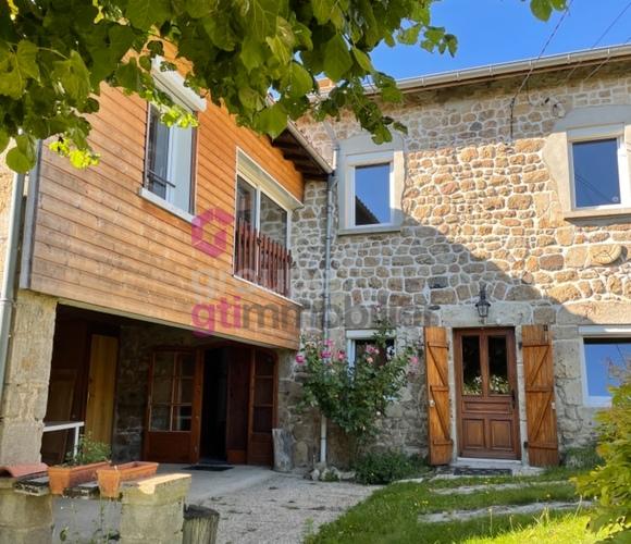 Vente Maison 7 pièces 120m² Usson-en-Forez (42550) - photo