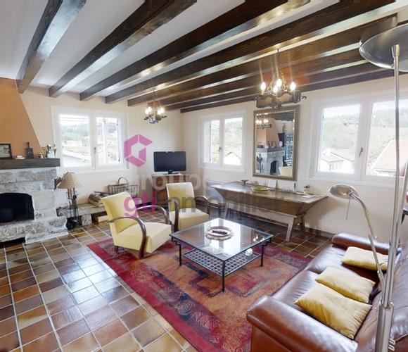 Vente Maison 5 pièces 110m² Riotord (43220) - photo