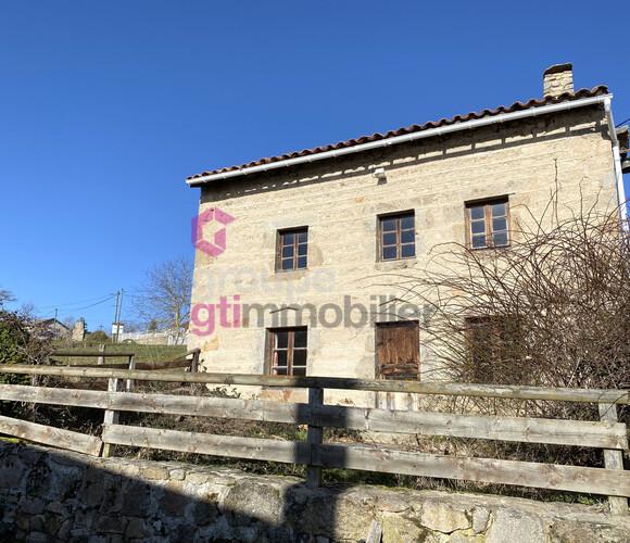 Vente Maison 3 pièces 65m² Boisset (43500) - photo