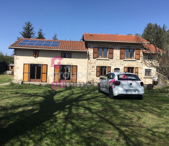 Vente Maison 5 pièces 160m² Usson-en-Forez (42550) - photo