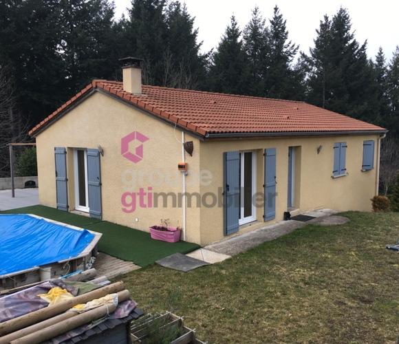 Vente Maison 4 pièces 90m² Luriecq (42380) - photo