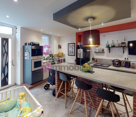 Vente Maison 3 pièces 90m² Saint-Just-Saint-Rambert (42170) - photo