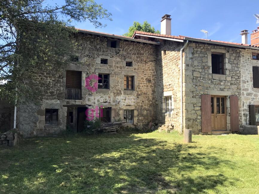 Vente Maison 3 pièces 51m² Saint-Pal-de-Chalencon (43500) - photo