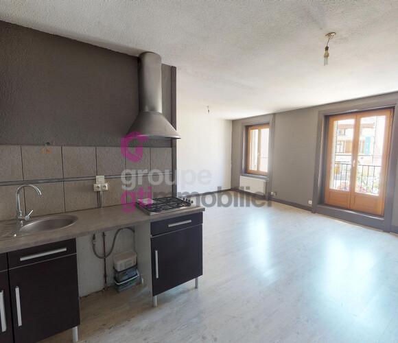 Vente Appartement 2 pièces 56m² Sury-le-Comtal (42450) - photo