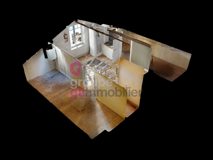 Vente Appartement 1 pièce 17m² Saint-Didier-en-Velay (43140) - photo