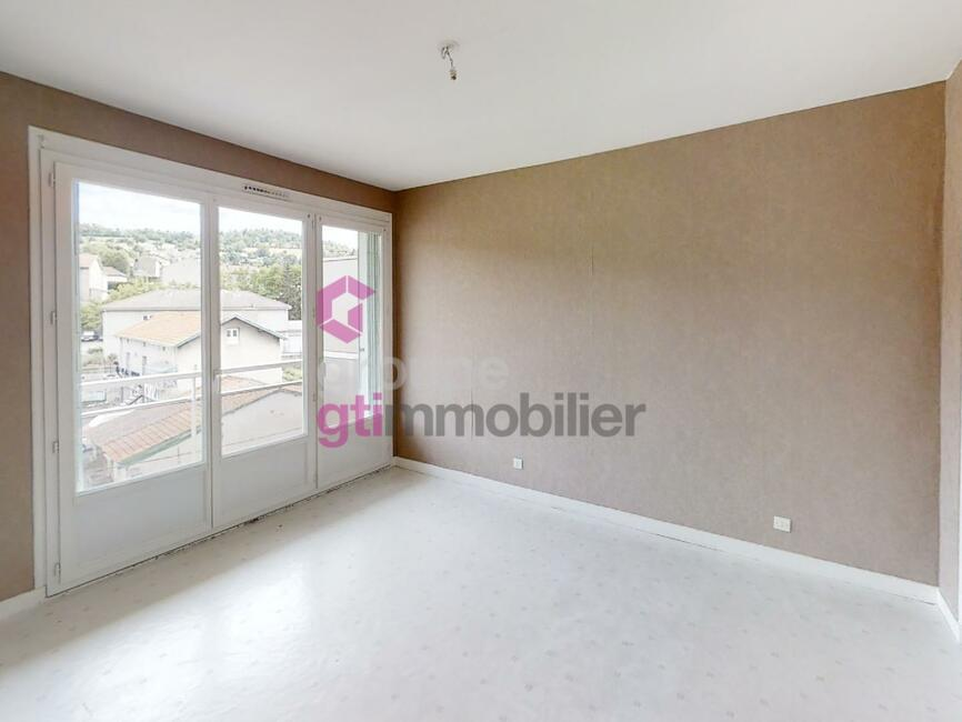 Vente Appartement 2 pièces 46m² La Ricamarie (42150) - photo