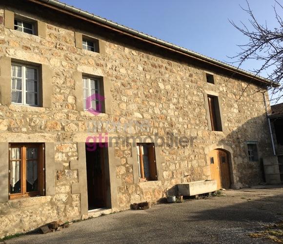 Vente Maison 4 pièces 90m² Apinac (42550) - photo