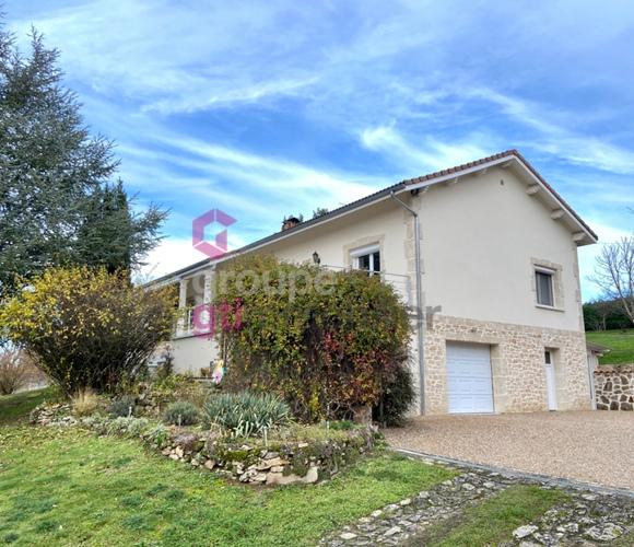 Vente Maison 4 pièces 144m² Courpière (63120) - photo