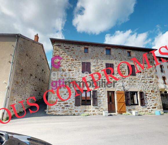 Vente Maison 6 pièces 150m² Saint-Julien-Molhesabate (43220) - photo