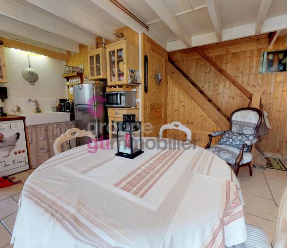 Vente Maison 3 pièces 60m² Usson-en-Forez (42550) - photo
