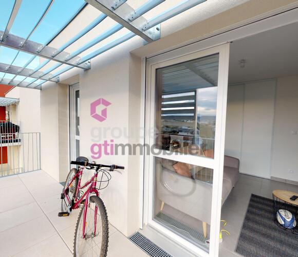 Vente Appartement 3 pièces 57m² Clermont-Ferrand (63100) - photo