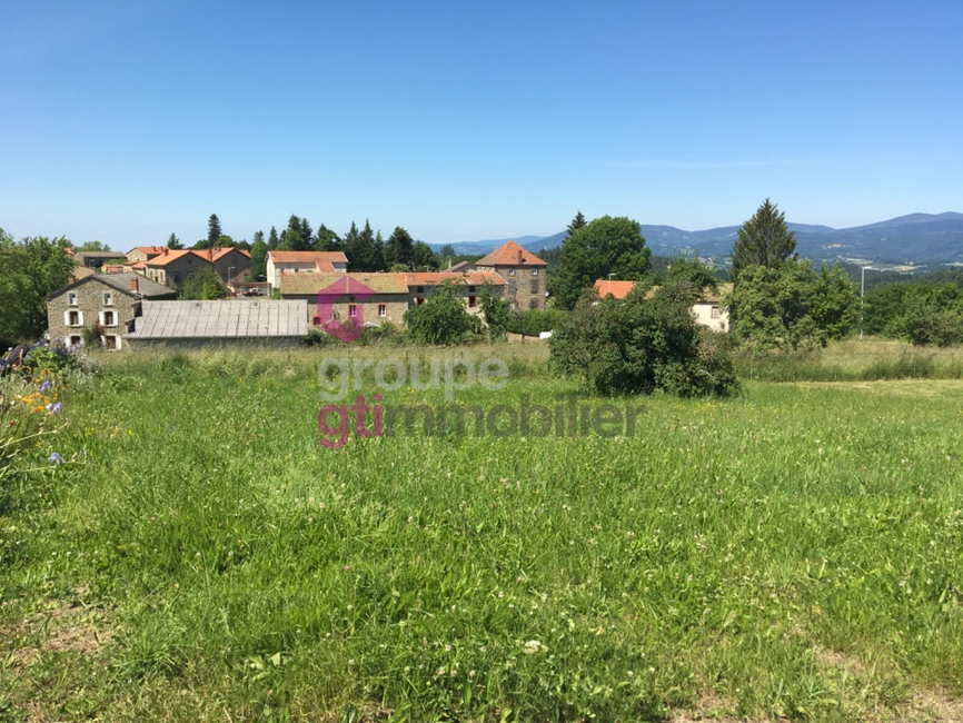 Vente Terrain 608m² Tours-sur-Meymont (63590) - photo