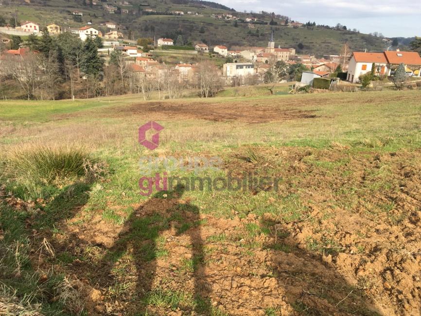 Vente Terrain 4 500m² Annonay (07100) - photo