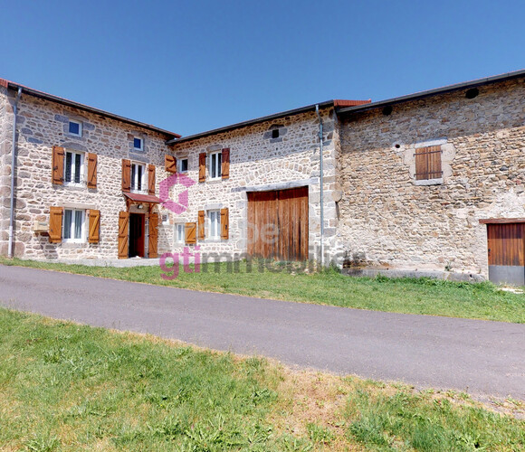 Vente Maison 4 pièces 114m² La Chapelle-Agnon (63590) - photo