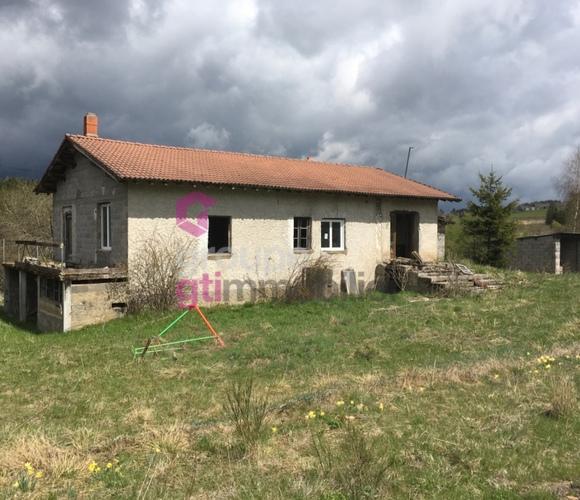 Vente Maison 3 pièces 130m² Fournols (63980) - photo
