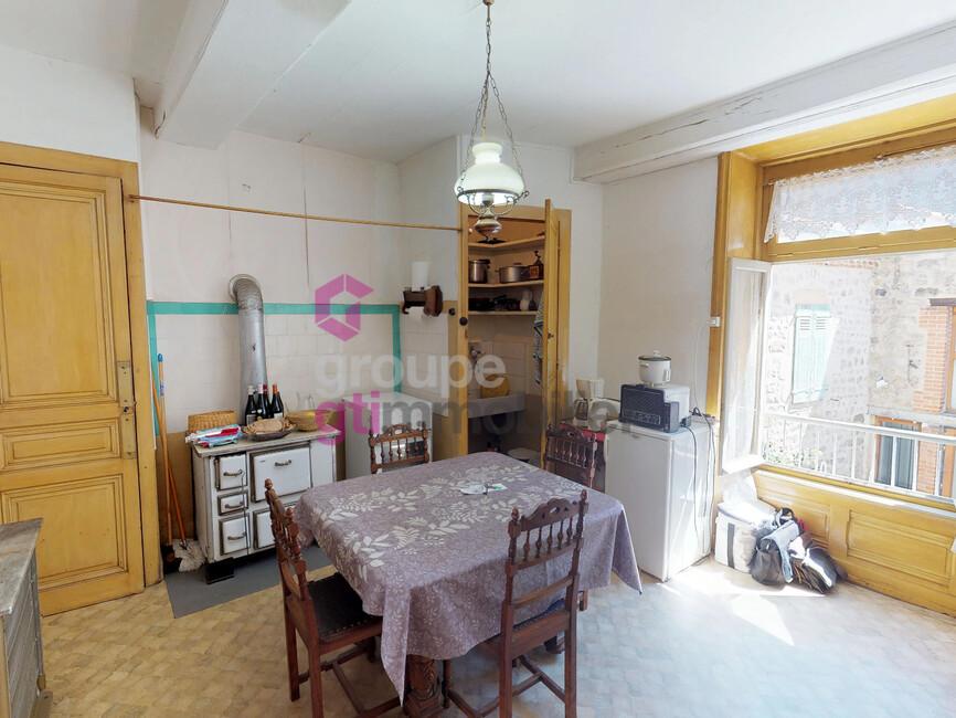 Vente Maison 5 pièces 85m² Saint-Bonnet-le-Château (42380) - photo