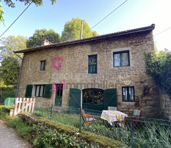 Vente Maison 4 pièces 125m² Saint-Pal-de-Chalencon (43500) - photo