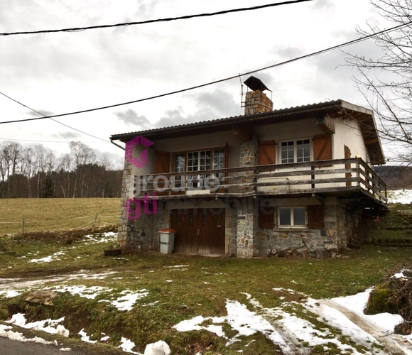 Vente Maison 4 pièces 90m² Le Brugeron (63880) - photo
