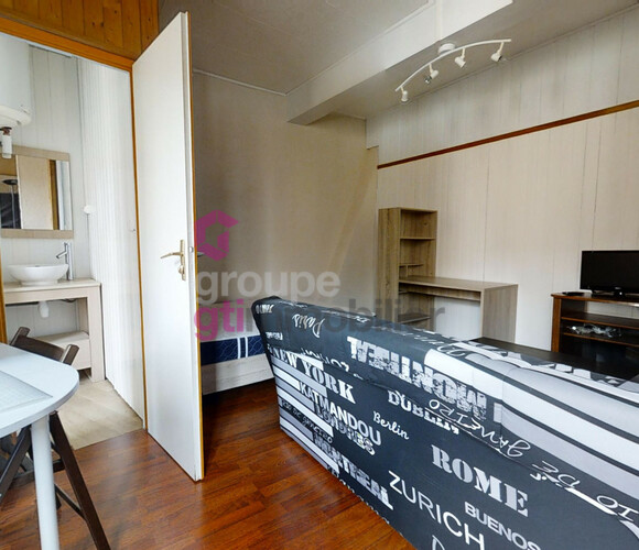 Vente Appartement 1 pièce 24m² Annonay (07100) - photo