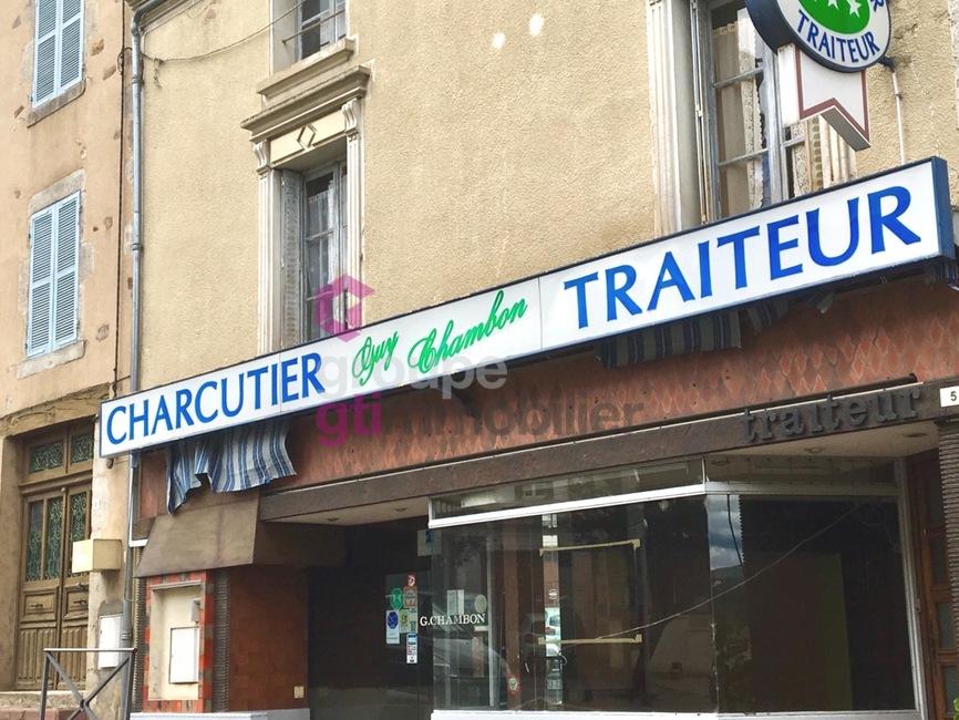 Vente Immeuble 5 pièces 203m² Courpière (63120) - photo