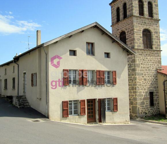 Vente Maison 4 pièces 70m² Connangles (43160) - photo